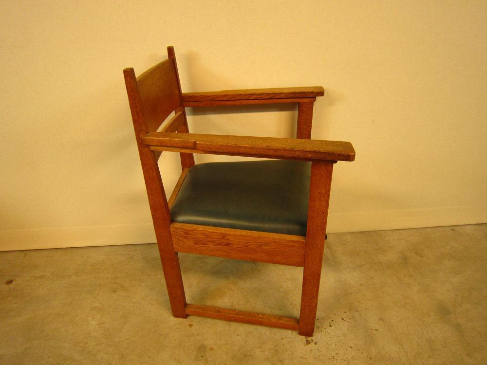 Art Deco Stoel : Eiken art deco stoel met armleuning berben antiek